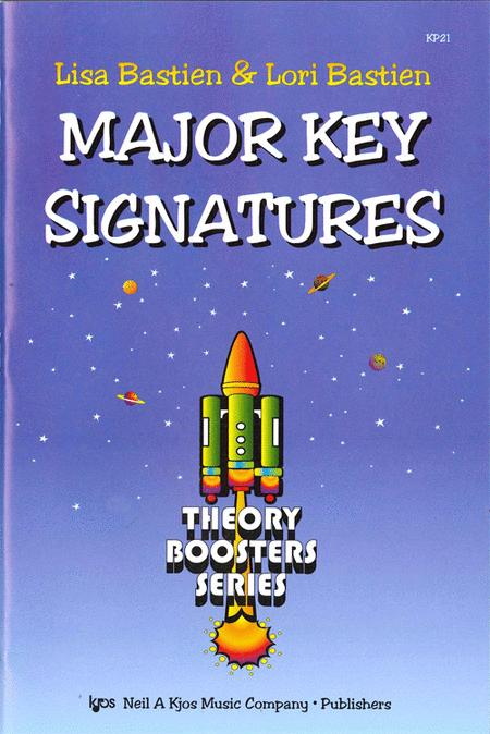 Bastien Theory Boosters: Major Key Signatures