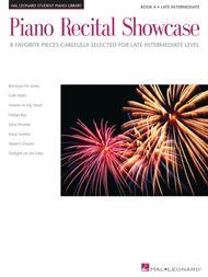 Piano Recital Showcase - Book 4