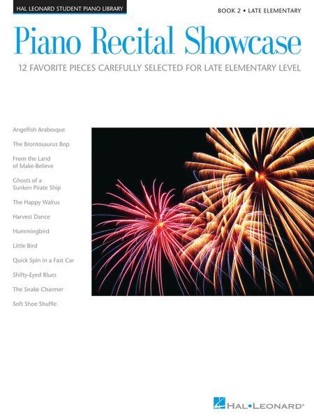 Piano Recital Showcase - Book 2