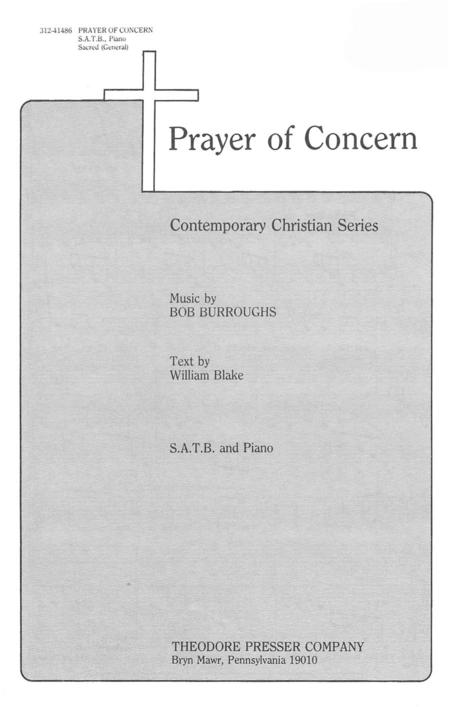 Prayer of Concern