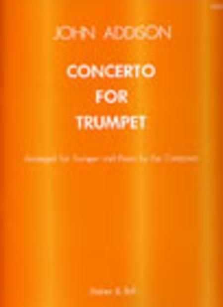 Concerto for Trumpet and Strings with optional Percussion (Transcribed for Trumpet and Piano)