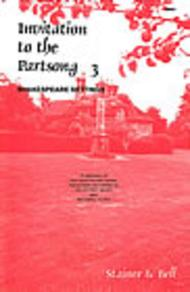 Invitation to the Partsong Book 3
