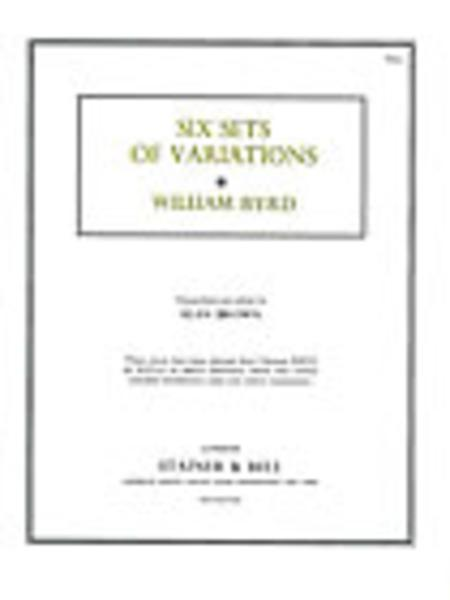 Six Sets of Variations from Musica Britannica