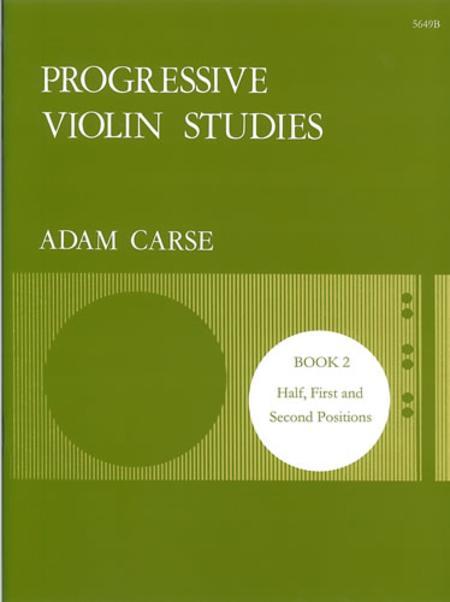 Progressive Violin Studies - Book 2