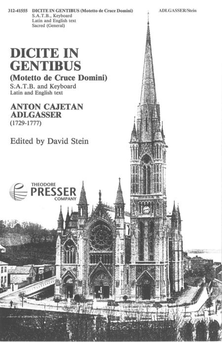 Dicite in Gentibus