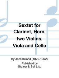 Sextet for Clarinet, Horn, two Violins, Viola and Cello