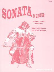 Sonata in E minor for Cello and Piano