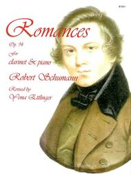 Romances, Op. 94, for Clarinet and Piano