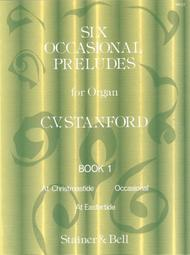 Six Occasional Preludes - Book 1