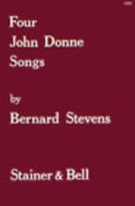 Four John Donne Songs for High Voice