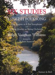 Six Studies in English Folk Song for Solo Cor Anglais and String Quartet or String Orchestra