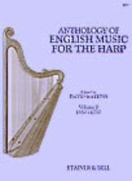 An Anthology of English Music for Harp - Book 2: 1650-1750