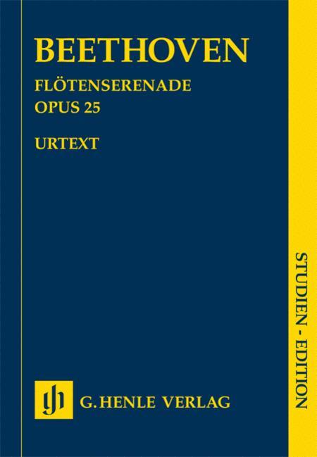 Serenade for Flute, Violin and Viola in D Major, Op. 25