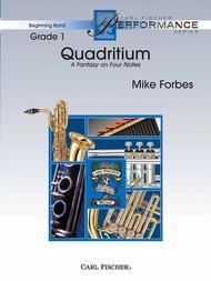 Quadritium (A Fantasy On Four Notes)