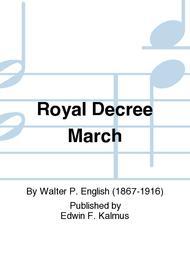 Royal Decree March