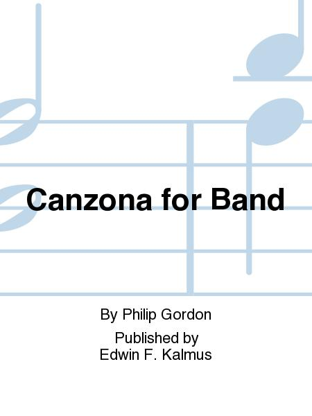 Canzona for Band