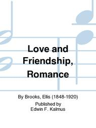 Love and Friendship, Romance