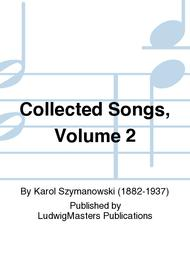 Collected Songs, Volume 2