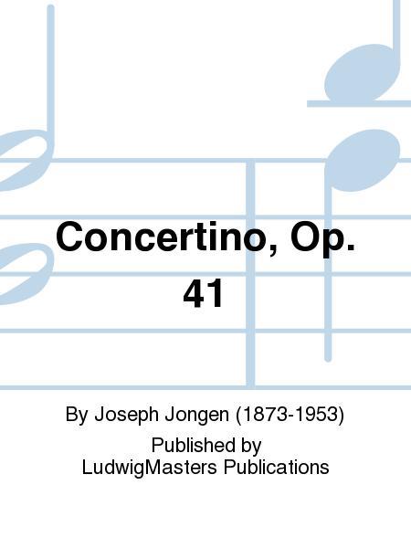 Concertino, Op. 41