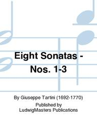 Eight Sonatas - Nos. 1-3