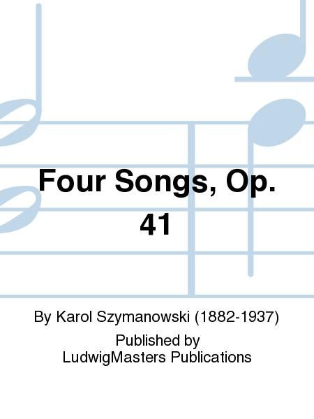 Four Songs, Op. 41