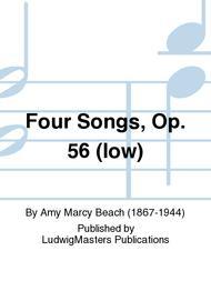 Four Songs, Op. 56 (low)