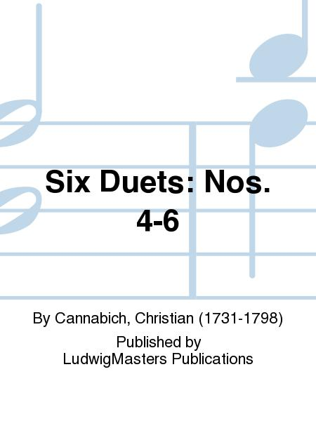 Six Duets: Nos. 4-6