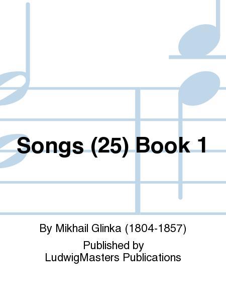 Songs (25) Book 1