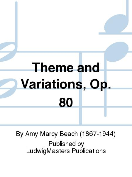 Theme and Variations, Op. 80