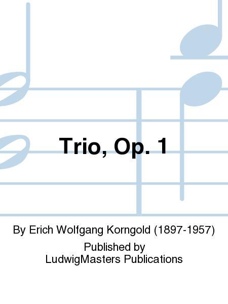 Trio, Op. 1