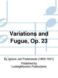 Variations and Fugue, Op. 23