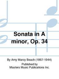 Sonata in A minor, Op. 34