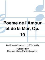 Poeme De L039amour Et De La Mer Op 19 By Ernest
