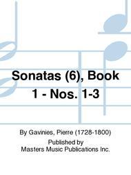 Sonatas (6), Book 1 - Nos. 1-3
