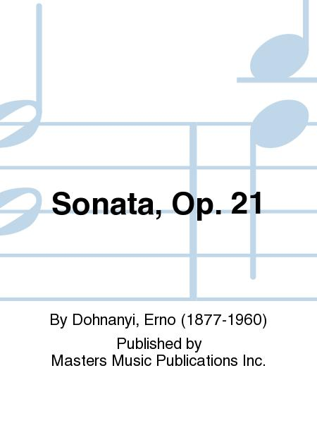 Sonata, Op. 21