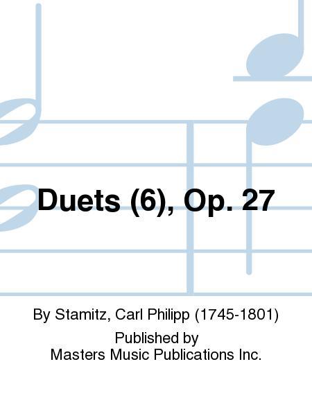 Duets (6), Op. 27