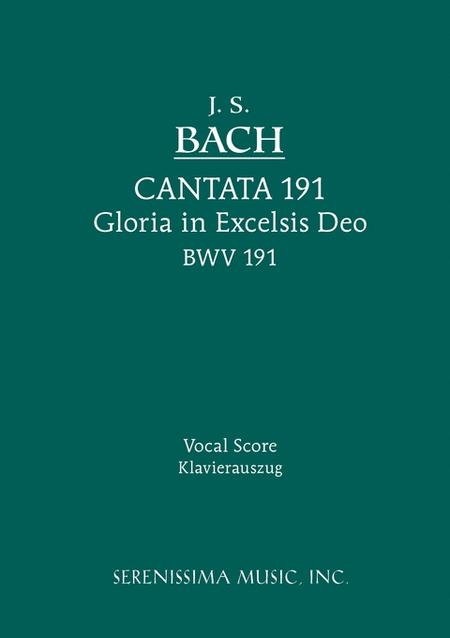 Cantata No. 191: Gloria in Excelsis Deo, BWV 191