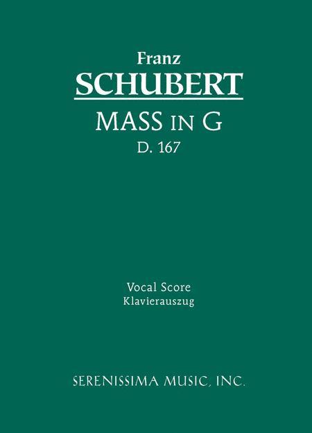 Mass in G, D. 167