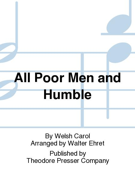 All Poor Men And Humble