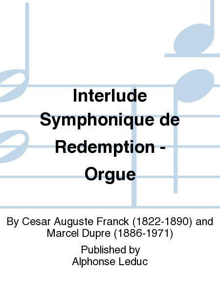 Interlude Symphonique de Redemption - Orgue