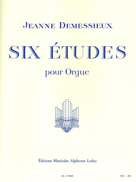 6 Etudes - Orgue