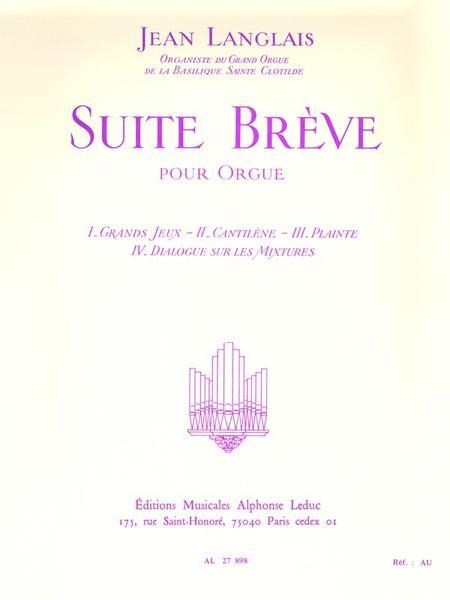 Suite Breve - Orgue