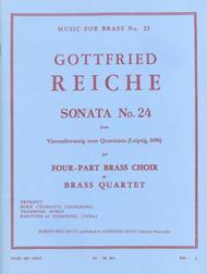 Sonata No.24 - Brass Quartet