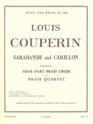 Sarabande And Carillon - Brass Quartet
