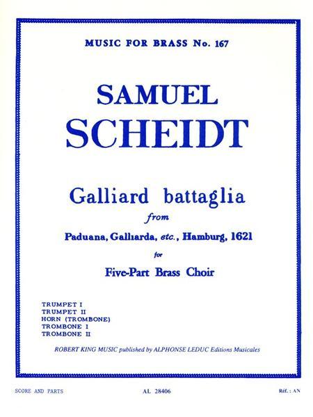Galliard Battaglia - Brass Quintet