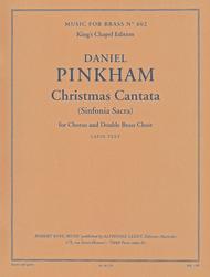 Christmas Cantata - Brass Ensemble/Vces