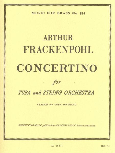 Concertino/Tuba and Strings