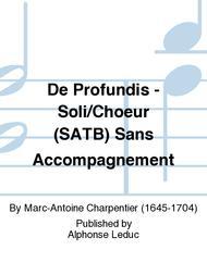 De Profundis - Soli/Choeur (SATB) Sans Accompagnement