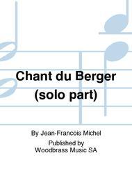 Chant du Berger (solo part)