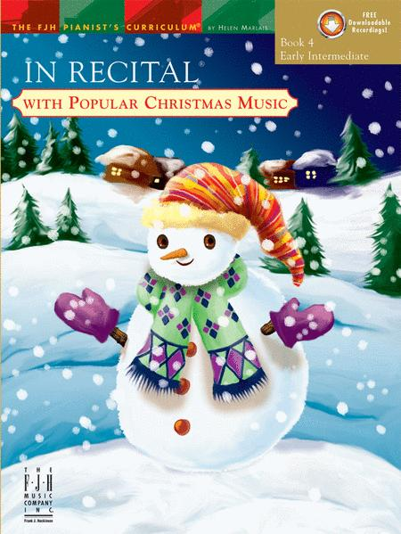 In Recital with Popular Christmas Music, Book 4